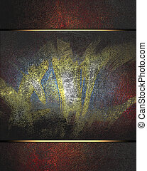 Grunge color texture, blue and red color, old scratched...