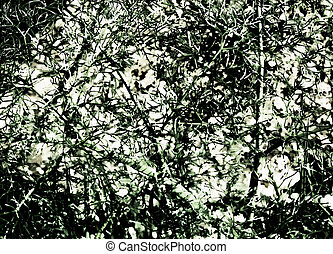 abstract background of green tones