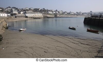 St Mawes harbour Cornwall England - St Mawes harbour...