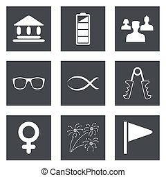 Icons for Web Design set 33 - Icons for Web Design and...