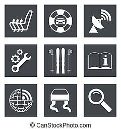 Icons for Web Design set 39 - Icons for Web Design and...