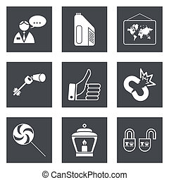 Icons for Web Design set 35 - Icons for Web Design and...