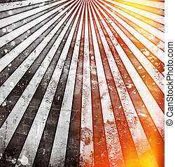 Abstract grunge sunbeams background or texture