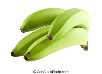 banana is isolated on a white background. Picture from...
