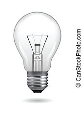 Lamp Bulb - Light bulb Vector illustration