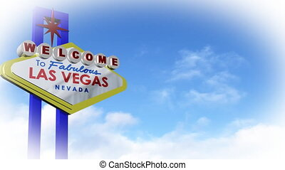 LAS VEGAS SIGN - 3D Animated LAS VEGAS SIGN