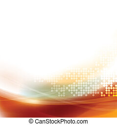 Abstract smooth flow and dot pattern background for...