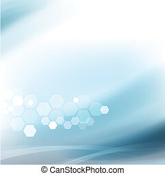 Abstract flow smooth and clean background for science or technology concept, Vector illustration
