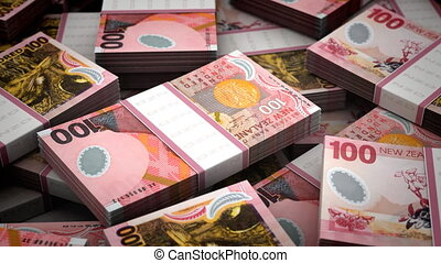 Billion Australian Dollar Background seamless