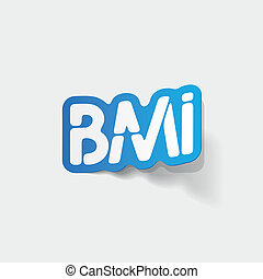 realistic design element: BMI