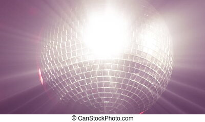 Stock Footage of a Disco Ball - Real Footage Disco Ball...