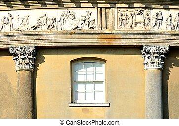 dettaglio, Neoclassico, costruzione