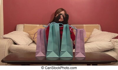 Stock Footage - Shopping