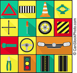 Car Parts - Icons