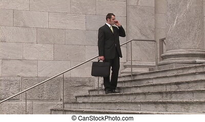 Stock Footage of Business on the Move - Broadcast Quality...