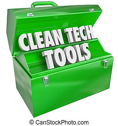 Clean Tech Tools Toolbox Renewable Power Energy Resources -...
