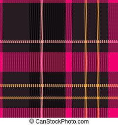 Plaid tartan pattern - Scottish tartan plaid material...