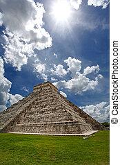 Pyramid Kukulkan, Chichen Itza