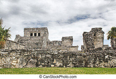 Mexican city of Tulum - Mayan Ruins