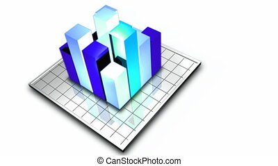 Stock Animation of 3D Graph