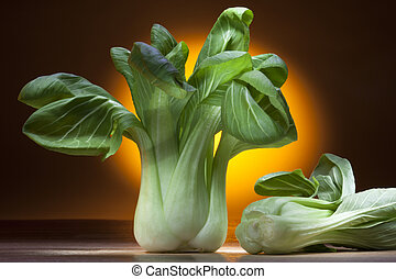 Bok Choy, Pak Chol or Pak Choi is a Chinese cabbage of a...