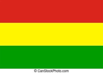 vlag,  rastafarian