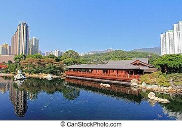 Pine Teahouse, Hong Kong - Pine Teahouse (Song Cha Xie) at...