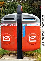 NZ Post Office mailing box - Modern NZ Post Office mailing...