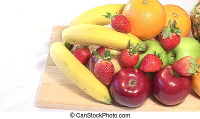 Stock Footage of Fruit - Stock Video shot of Fruit in a...