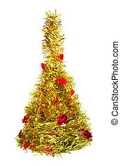 Christmas fur-tree isolated on white