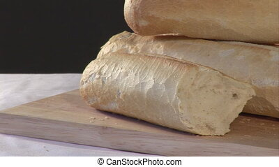Stock Footage of Bread