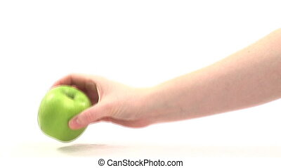 Stock Video Footage of Apples
