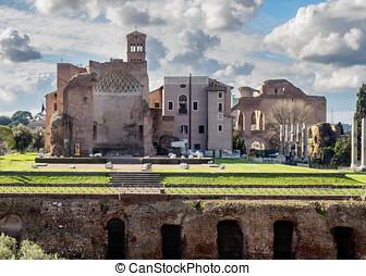 Forum Romanum, Rome, Italy