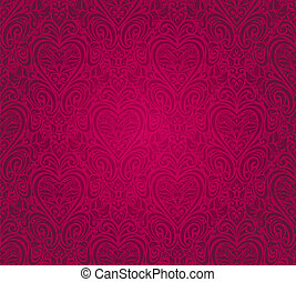 red  vintage seamless design