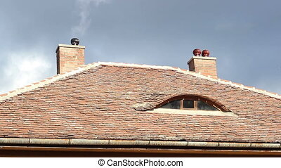 Rotatable Chimney - Rotating chimney on roof, for better...