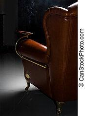 sillón, cigarro