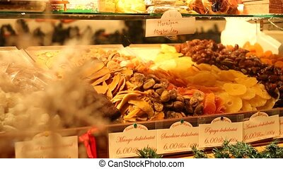 Delicious Candied Fruits - Various kinds of dried candied...