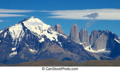 Torres del Paine National Park - South America - Patagonia -...