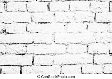 White wall bricks
