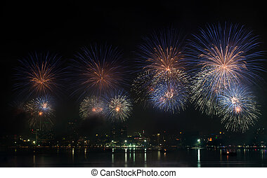 Pattaya International Firework Festival 2012, of Thailand