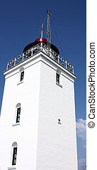 Light house on the Danish island Bornholm