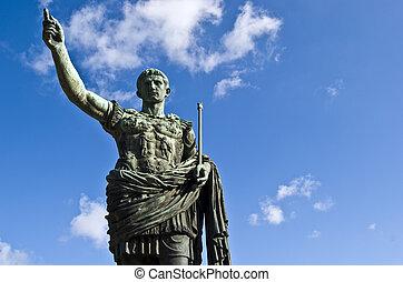 Julius Caesar - statue of the famous roman emperor Julius...