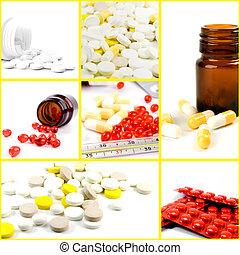 medicines - collection of medicines