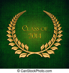 Gold laurel for class of 2014