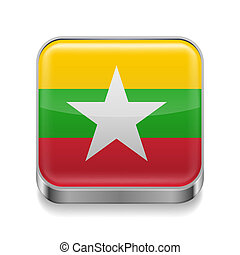 Metal  icon of Myanmar