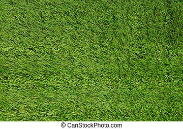 Artificial turf green grass