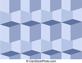 Abstraction - Seamless blue threedimensional texture
