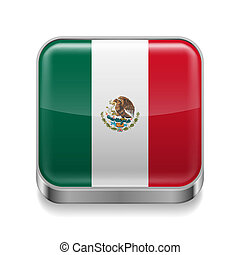 Metal  icon of Mexico