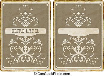 Vector Vintage Card