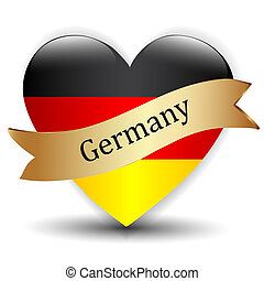 Love Germany symbol.